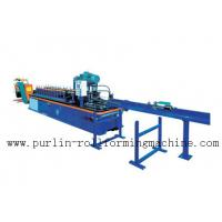 PLC Control System High Speed Light Stud Track Roll Forming Machine