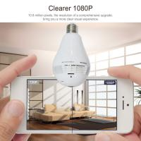 China Home Security New Product 960P 360 Degree Panoramic Security Wireless Camera P2P IP WiFi Hidden CCTV Light Bulb Camera on sale