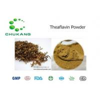 Buy cheap Cas 4670 05 7 Plant Extract Powder Theaflavin Anti Inflammatory Absorb Heavy from wholesalers