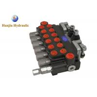 Buy cheap 6 Spool Hydraulic Directional Control Valve 11gpm (40l/ Min ) 6P40 + 2 Joysticks from wholesalers