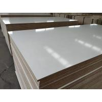 Buy cheap Melamine Faced MDF / waterproof mdf board.melamine mdf for furniture,kitchen,wardrobe product