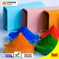 Buy cheap Electrostatic Polyester Powder Coating , Transparent Powder Coat Smooth Surface product