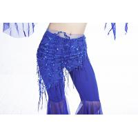 Buy cheap Triangle Mesh Hip Scarf Belly Dance One Size Fringe Hip Scarf from wholesalers