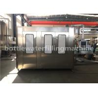 Buy cheap 3 In 1 Full Automatic Bottle Filling Machine , Drinking Water Production Line product
