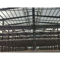 Buy cheap Big Span Construction Steel Structure With Mezzanine Office Floor from wholesalers