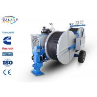 Buy cheap 7500kg Transmission Line Equipment Max Continuous Tension 2X70KN Hydraulic Laying Tensioner product