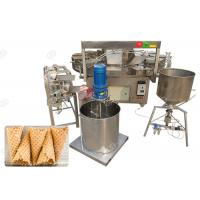Buy cheap Electric Waffle Ice Cream Cone Machine / Commercial Waffle Cone Maker Machine product