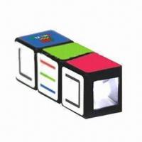 Buy cheap Twist Mini LED Keyring, Made of ABS product