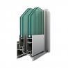 Buy cheap OEM Aluminum Window Profiles Mullion Equal / Unequal Bead Aluminium Extrusion from wholesalers