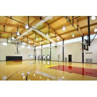 Buy cheap Professional PVC Sports Flooring , Basketball Court Tile Flooring Wooden Type Sealed product
