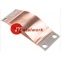 Buy cheap CE Flexible Copper Shunts , Copper Foil Connector For Electrical Connection from wholesalers