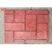 Buy cheap Non Fading Premixed Concrete Color Hardener Red Color 96% Solid Content product