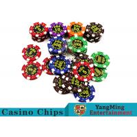 Good Printing Non - Faded Casino Royale Poker ChipsWith Special ABS Material