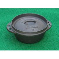 Buy quality Cast Iron Presesoned Potjie Pot at wholesale prices