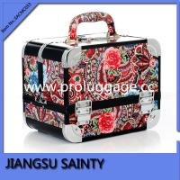 SACMC033 Ethnic style flowers printing makeup beauty case
