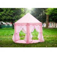 Buy cheap Pvc Pole Childrens Play Tent Indoor Clean Room Princess Castle Tent House product