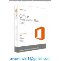 Buy cheap Fully Installed Office Professional Plus 2016 And Office Home And Business 2016 Server product