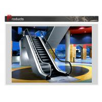 Buy cheap Rise 6000mm Rubber Handrails Indoor VVVF Moving Walk Escalator With Aluminum from wholesalers