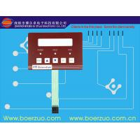 Buy cheap Push Button LED Membrane Backlit Switch Panel 10Ω - 500Ω With 3m Adhesive product