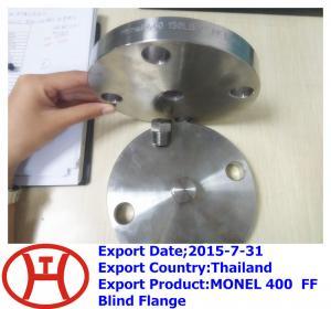 China MONEL 400  FF Blind Flange on sale