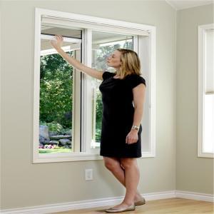 Buy cheap Aluminium frame fiberglass net roller fly screen match to top hung window product