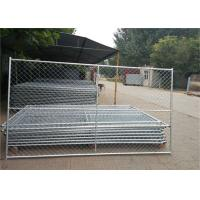 "Buy cheap Temporary Chain Link Fence Solutions in Austin 6ft x 12ft O.D. 1-1/4"" and 1-3/8'' product"
