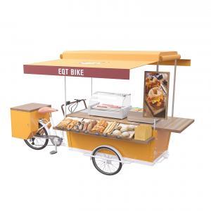 Buy cheap Aluminium Alloy Cargo 350w Rear Wheel Fast Food Cart product