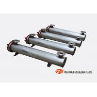 Buy cheap Titanium Shell And Tube Heat Exchangers Flooded Type Evaporator 140 KW For Water Chiller product