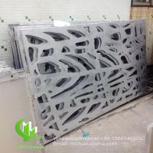Buy cheap Tree aluminium veneer sheet metal facade cladding bending sheet 2.5mm thickness for curtain wall facade decoration product