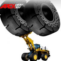 Buy cheap APEX 35/65-33 Solid Tire, Cushion Tyre for Wheel Loader, Integrated Tool Carrier, Elevating Motor Scraper product