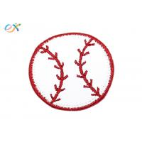 Buy cheap Fashionable Size Custom Baseball Patches Embroidery For T Shirt Logo product