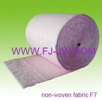 Buy cheap F7 Synthetic Filter Media Rolls Ultrasonic Sealed for Pocket Filter product