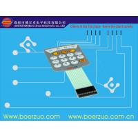 Buy cheap Embossed Flat Metal Dome PCB Single Membrane Switch For Function Keyboard product