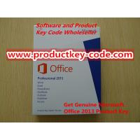 Buy quality Wholesale Microsoft Office 2013 Product Key Card,Microsoft Office Professional 2013 Product Key Card (PKC) (1 PC/1 User) at wholesale prices