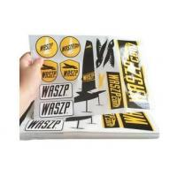 Buy cheap Custom Logo Self Adhesive Vinyl Labels / Warning Stickers Eco Friendly product