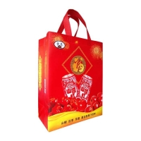 Breathable Tote Promotional Non Woven Shopping Bags Shrink Resistant for sale