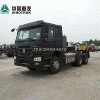 Quality 10 Wheel Prime Mover Truck 400l-1000l Oil Tank With 371hp Sinotruk Engine for sale