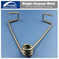 Buy cheap Customized Stainless Steel Wire Forming Stainless Steel Spring Clips For JIS product
