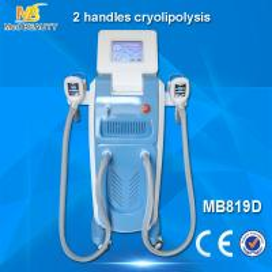 Buy cheap 2 handles cryolipolysis machine weight loss /cool sculpting machine/fat freezing machine product