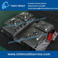 China thin walled plastic container mould, thin wall PP box moulds, IML mould solution supplier on sale