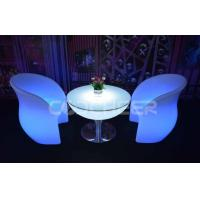 Buy quality IP68 Waterproof Led Lounge Furniture Coffee Table Chair 100v - 240V at wholesale prices