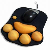 Buy cheap Mouse Pad, Measuring 220 x 180 x 2mm, Made of Neoprene and Cloth product