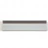 Silver Cabinet Edge Aluminium Kitchen Handles for sale