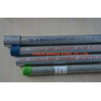 Buy cheap 2 Inch / 3 Inch Galvanized EMT Pipe , Galvanized Steel Water Pipe Grade B , SS330 product