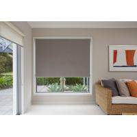 Buy cheap Motorized PVC coated blackout fabric electric retractable blinds for office product