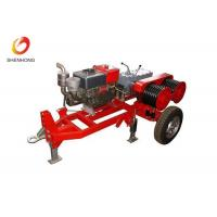 Buy cheap Five Ton Dual Bull Wheel Powered Diesel Winch For Pulling And Tensioning Lines product