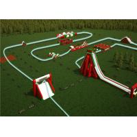 Buy cheap Giant Inflatable Fun 5K Mass Modules Easy Move Convenient For Large Palyground product