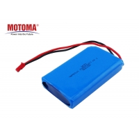 Buy cheap 6*38*62mm Wearable Device Battery , 1700mah 7.4 V Rechargeable Battery Pack product