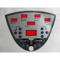 Buy cheap Professional Membrane Switch Graphic Overlay With 3M Adhesive And Transparent Window product