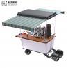 Buy cheap 350w Food Van Vending Coffee Bike Cart Metal Frame from wholesalers